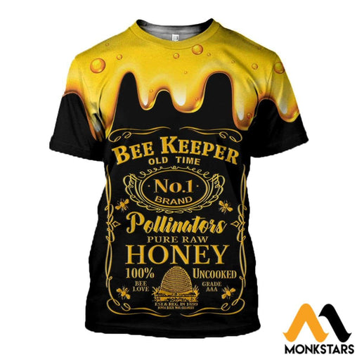 3D All Over Printed Beekeeper Tops T-Shirt / Xs Clothes