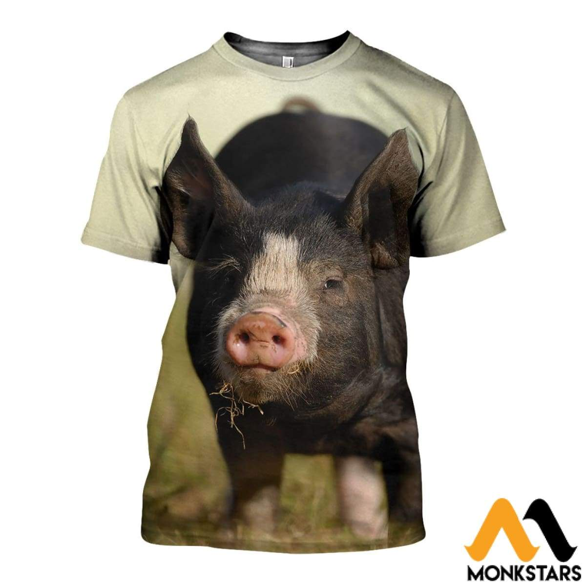 f42df70b1d57 3D All Over Printed Berkshire Pig Shirts and Shorts - Monkstars Inc.