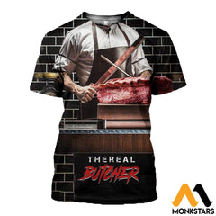 3D All Over Printed Butcher T-Shirt Hoodie Satk020508 / Xs Clothes