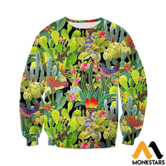 3D All Over Printed Cactus Clothes Long-Sleeved Shirt / Xs