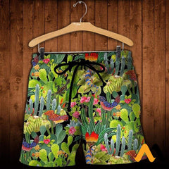 3D All Over Printed Cactus Clothes Shorts / Xs