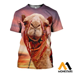 3D All Over Printed Camel T-Shirt Hoodie Snul130404 / Xs Clothes