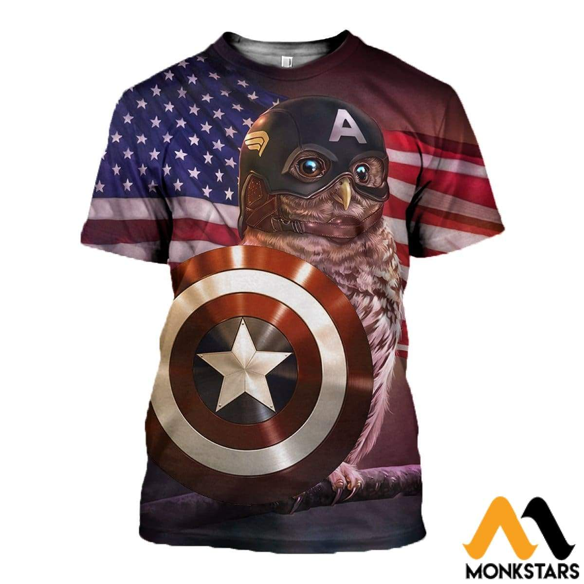 3D All Over Printed Captain T-Shirt Hoodie Saul230405 / Xs Clothes