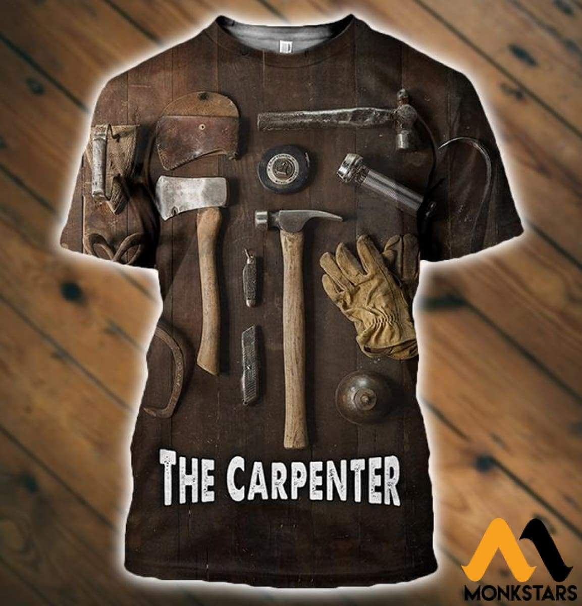 3D All Over Printed Carpenter Tools T-Shirt Hoodie Sntk020503 / Xs Clothes