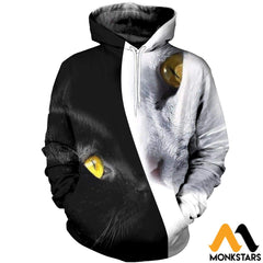 3D All Over Printed Cat T-Shirt Hoodie Adul200408 Normal / Xs Clothes