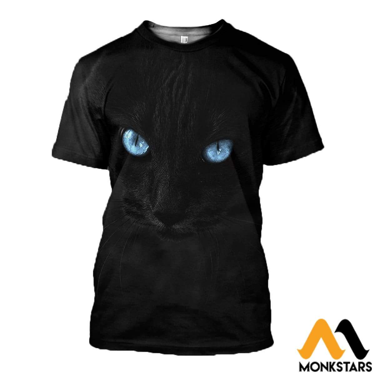 3D All Over Printed Cat T-Shirt Hoodie Gtl390314 / Xs Clothes