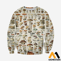3D All Over Printed Champignons Clothes Long-Sleeved Shirt / Xs