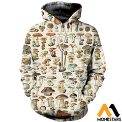 3D All Over Printed Champignons Clothes Normal Hoodie / Xs