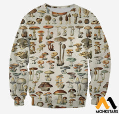 3D All Over Printed Champignons Mushroom Shirts And Shorts Long-Sleeved Shirt / Xs Clothes