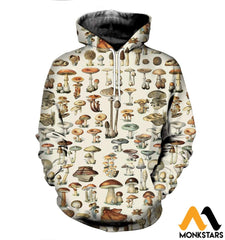 3D All Over Printed Champignons Mushroom Shirts And Shorts Normal Hoodie / Xs Clothes