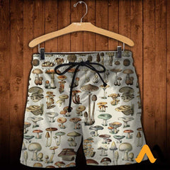 3D All Over Printed Champignons Mushroom Shirts And Shorts / Xs Clothes