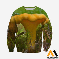 3D All Over Printed Chanterelles Shirts And Shorts Long-Sleeved Shirt / Xs Clothes