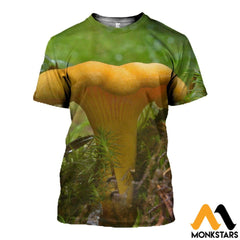 3D All Over Printed Chanterelles Shirts And Shorts T-Shirt / Xs Clothes
