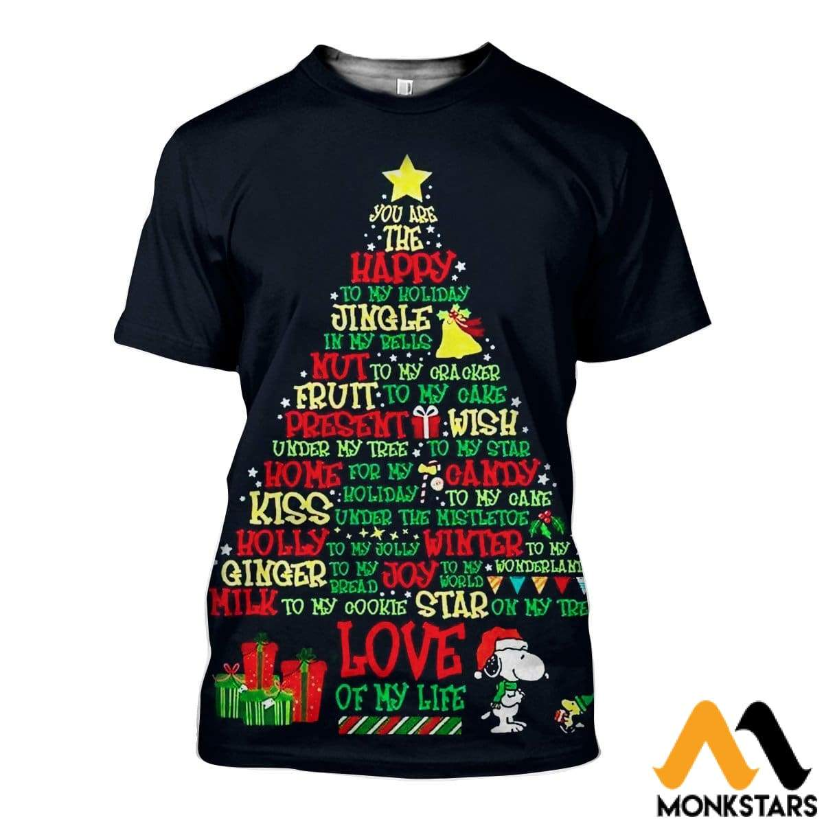 8d0da2c3f726 3D All Over Printed Christmas Shirts And Shorts T-Shirt   Xs Clothes