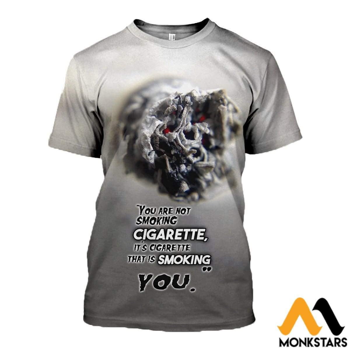 3D All Over Printed Cigarette T-Shirt Hoodie Sctl170411 / Xs Clothes