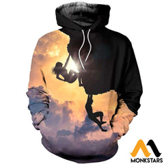 3D All Over Printed Climbing Shirts And Shorts Normal Hoodie / Xs Clothes