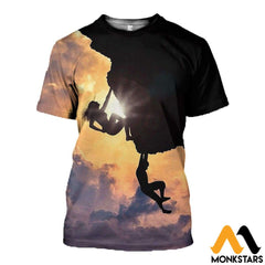 3D All Over Printed Climbing Shirts And Shorts T-Shirt / Xs Clothes