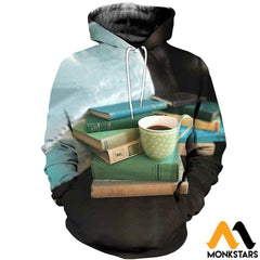 3D All Over Printed Coffee T-Shirt Hoodie Adal120416 / Xs Clothes