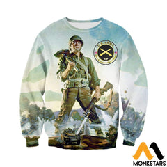 3D All Over Printed Combat Engineers Clothes Long-Sleeved Shirt / Xs