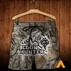 3D All Over Printed Coon Hunter Clothes Shorts / Xs