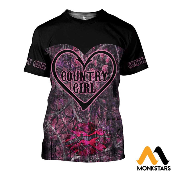 e98d74e64 Country Girl Style 3D All Over Printed Shirts For Men   Women ...
