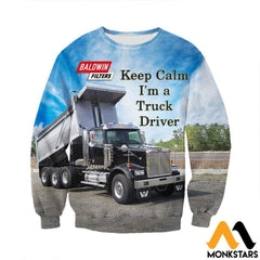 3D All Over Printed Custom Truck Shirts And Shorts Long-Sleeved Shirt / Xs Clothes
