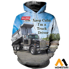 3D All Over Printed Custom Truck Shirts And Shorts Normal Hoodie / Xs Clothes