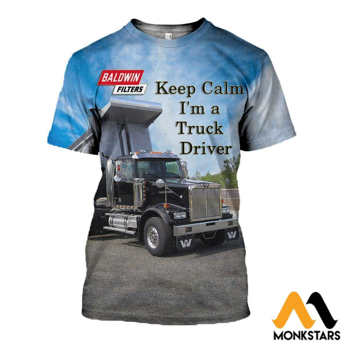 3D All Over Printed Custom Truck Shirts And Shorts T-Shirt / Xs Clothes