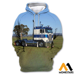 3D All Over Printed Custom Truck Tops Normal Hoodie / Xs Clothes