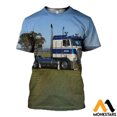 3D All Over Printed Custom Truck Tops T-Shirt / Xs Clothes