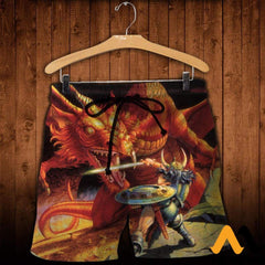 3D All Over Printed D&d Clothes Shorts / Xs