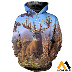 3D All Over Printed Deer Clothes Normal Hoodie / Xs