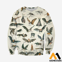 3d All Over Printed Different Types Of Bats Shirts And Shorts