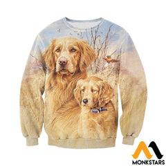 3D All Over Printed Dog Hunting Art Shirts And Shorts Long-Sleeved Shirt / Xs Clothes