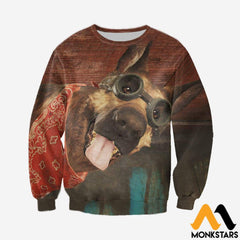 3D All Over Printed Dogmeat Clothes Long-Sleeved Shirt / Xs