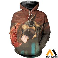 3D All Over Printed Dogmeat Clothes Normal Hoodie / Xs