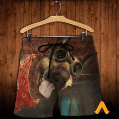 3D All Over Printed Dogmeat Clothes Shorts / Xs