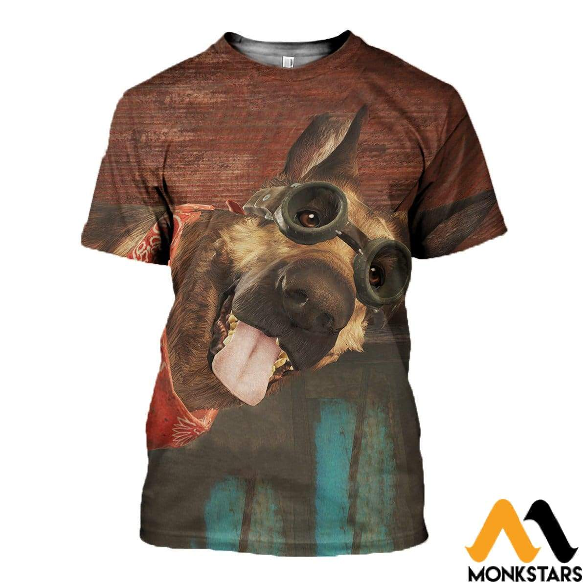 3D All Over Printed Dogmeat Clothes T-Shirt / Xs