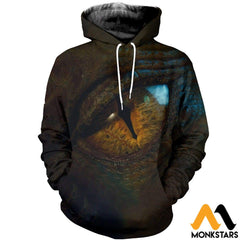 3D All Over Printed Dragon Eye Shirts And Shorts Normal Hoodie / Xs Clothes