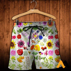 3D All Over Printed Edible Flower Garden Shirts And Shorts / Xs Clothes