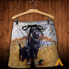 3D All Over Printed Family Dog Hunting Shirts And Shorts / S Clothes