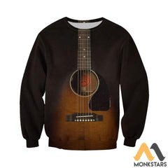3D All Over Printed Guitar Art Shirts And Shorts Long-Sleeved Shirt / Xs Clothes