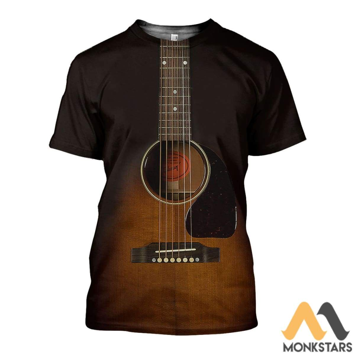 3D All Over Printed Guitar Art Shirts And Shorts T-Shirt / Xs Clothes