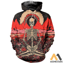 3D All Over Printed Hippie Shirts And Shorts Normal Hoodie / S Clothes