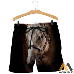 3D All Over Printed Horse Collection Shirts And Shorts / S Clothes