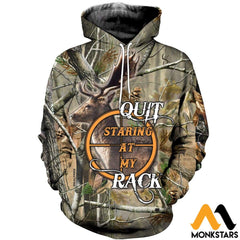 3D All Over Printed Hunt Deer Clothes Normal Hoodie / Xs