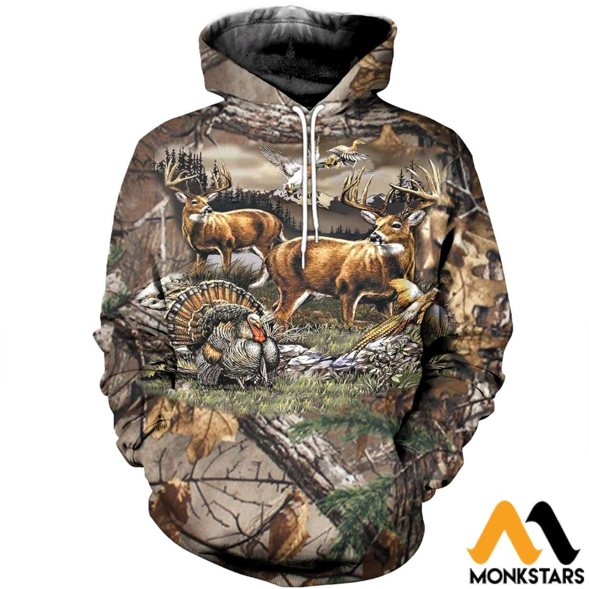 6ac52b56dee9 3D All Over Printed Hunting Clothes - Monkstars Inc.