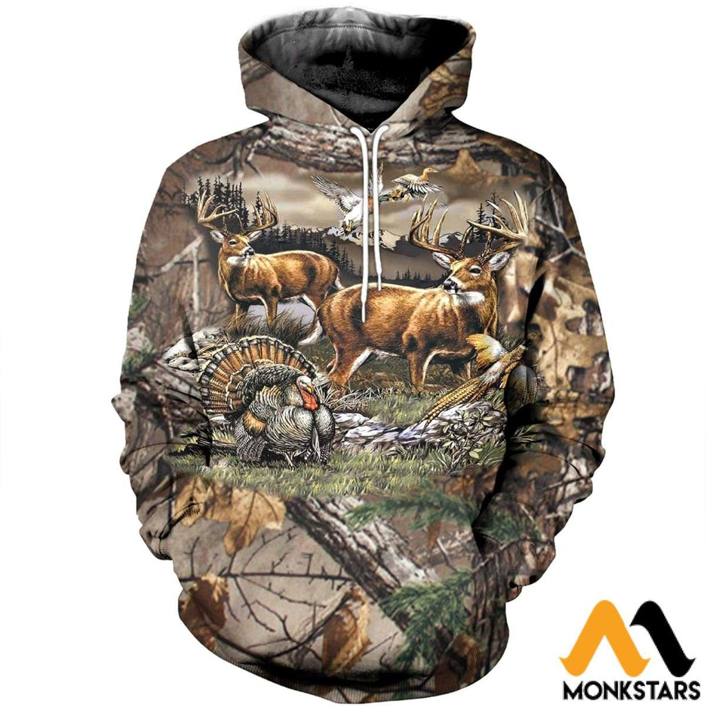 9d76f4097213 3D All Over Printed Hunting Clothes - Monkstars Inc.