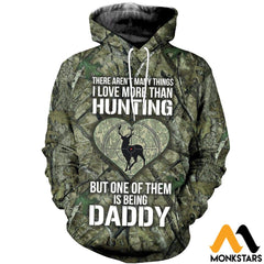 3D All Over Printed Hunting Deer Shirts And Shorts Normal Hoodie / Xs Clothes