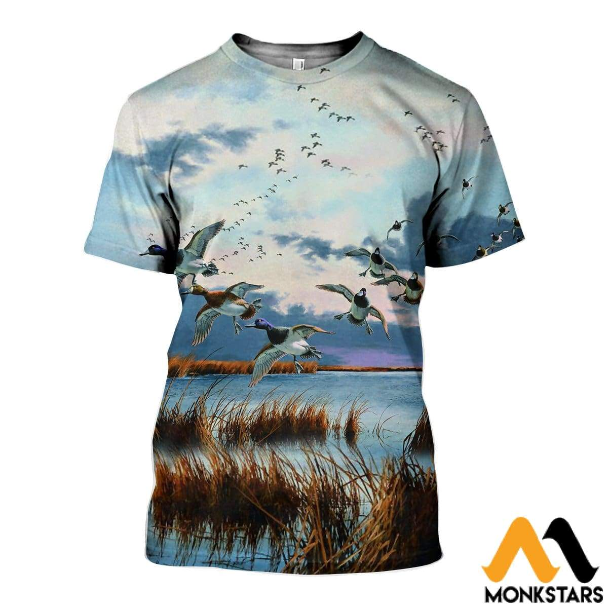 4db487cdf492 3D All Over Printed Hunting Duck Shirts And Shorts T-Shirt   Xs Clothes
